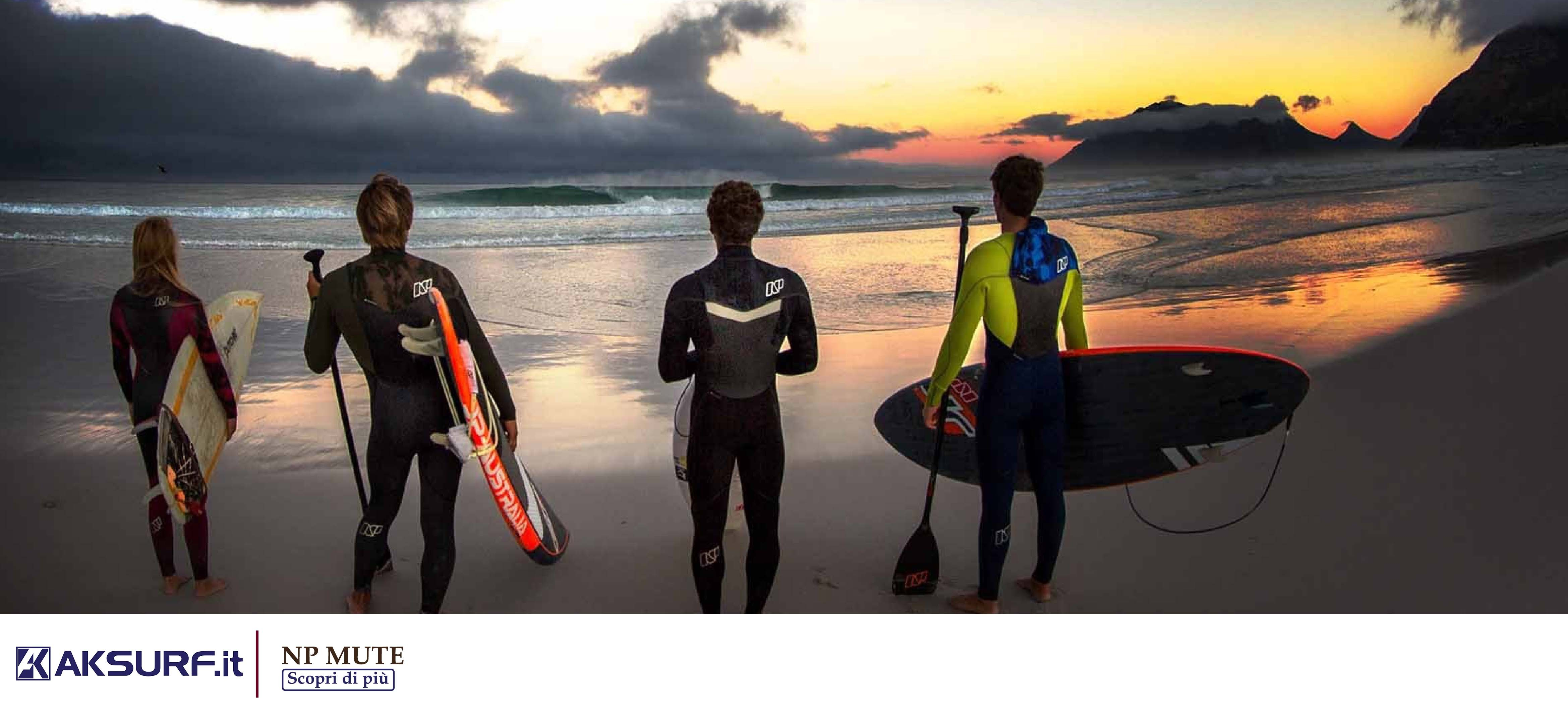 2018 NP MUTE / WETSUITS