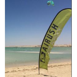 2019 AIRUSH COMPLETE FLAG BEACH PROGRESSION LARGE ACCESSORI KITE