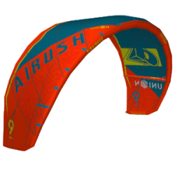 2019 AIRUSH UNION ACID TEAL V4 ALI KITE