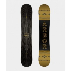2019 ARBOR ELEMENT BLACK CAMBER MEN'S SNOWBOARD TAVOLE