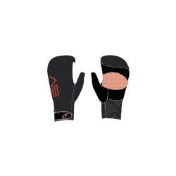 2019 SEVERNE 2-3mm OPEN PALM MITTEN GUANTI/GLOVES NEOPRENE&LOOK
