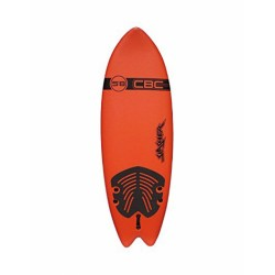 "2019 CBC SLASHER FISH 5'8"" SOFTBOARD TAVOLE SURF SOFT"