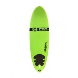 "2019 CBC SLASHER SHORT 6'0"" SOFTBOARD TAVOLE SURF SOFT"