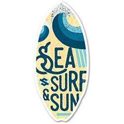 SKIMBOARD SKIM ONE RESINWOOD SEA SURF & SUN 44""
