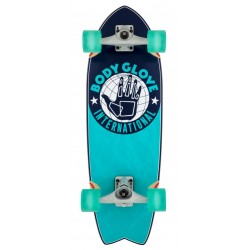 BODY GLOVE SURF SKATE INTERNATIONAL BLUE 29.5 x 9.5""
