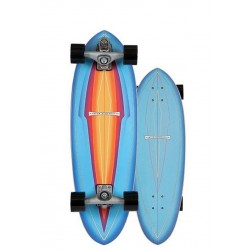 "2020 CARVER AIR BRUSH 31"" BLUE HAZE COMPLETE SURFSKATE"