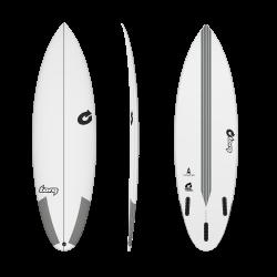 2020 TORQ TEC2 5'10'' THRUSTER WHITE TAVOLA SURF