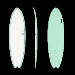 "2020 TORQ TET 6'3"" FISH PINLINE COLOR (SEAGREEN+PINLINE) TAVOLA SURF"