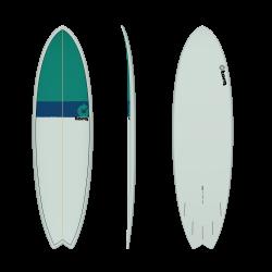 """2020 TORQ TET 6'6"""" FISH CLASSIC 2.0 TAVOLA SURF"""