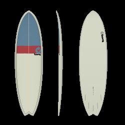 """2020 TORQ TET 6'10"""" FISH CLASSIC 2.0 TAVOLA SURF"""
