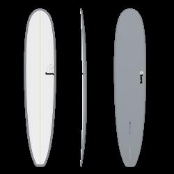 "2020 TORQ 9'6"" LONGBOARD PINLINE GREY+PINLINE TAVOLA SURF"