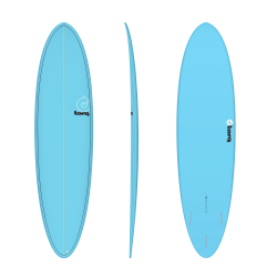 "2020 TORQ 7'2"" FUN PINLINE BLUE+PINLINE TAVOLA SURF"