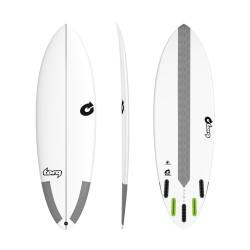 "2020 TORQ TEC 5'8"" HYBRID 5 FINBOXES TAVOLA SURF"