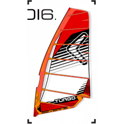 Vela da Windsurf SEVERNE TURBO 2016
