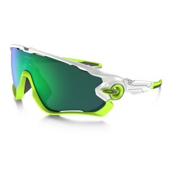 OAKLEY JAW BREAKER polished white - jade iridium