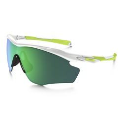 OAKLEY M2 Frame XL polished white - jade iridium