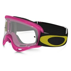 OAKLEY XS O FRAME MX - HIGH VOLTAGE PINK W/CLEAR MASCHERA DA CROSS