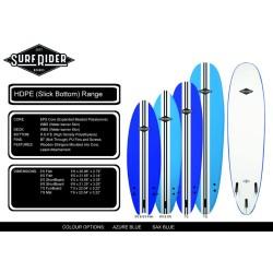 PLATINO SURF RIDER FUNBOARD HDPE TAVOLA DA SURF SOFT BOARD