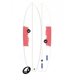 "2018 MAHALO FISH 6'6"" TEVAA TAVOLE SURF"