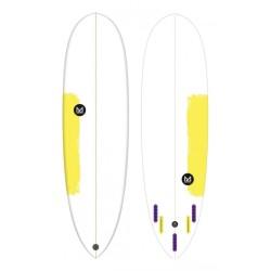 """2018 MAHALO PINTAL HYBRID 6'8"""" INOKE TAVOLE SURF"""