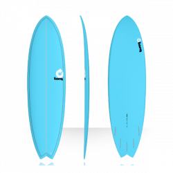 2018 TORQ TET EPOXY FISH COLOR BLUE TAVOLE SURF