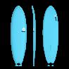 2018 TORQ TET EPOXY FISH COLOR BLUE TAVOLE SURF