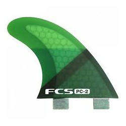 2018 FCS PERFORMANCE CORE PC-2 TRI FIN SET PINNA SURF