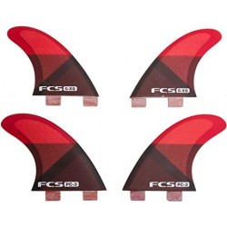 2018 FCS PERFORMANCE CORE PC-3 TRI FIN SET/QUAD SET PINNA SURF
