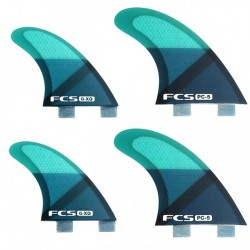 2018 FCS PERFORMANCE CORE PC-5 TRI SET/QUAD SET/TRI-QUAD SET PINNA SURF