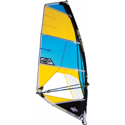 2019 NAISH BLUE/YELLOW FORCE IV VELE WINDSURF