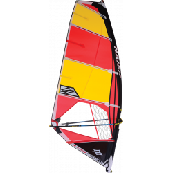 2019 NAISH YELLOW/RED FORCE V VELE WINDSURF
