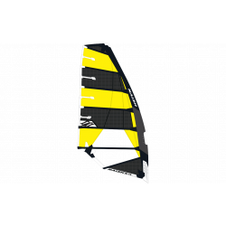 2019 NAISH YELLOW/GREY SL VELE WINDSURF