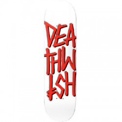 2019 DEATHWISH DEATHSTACK WHITE/RED SKATE