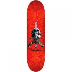 2019 POWELL PERALTA 243 RED SKULL&SWORD SKATE