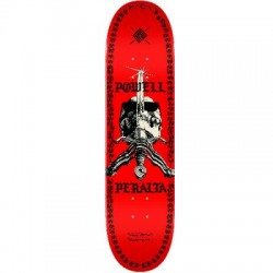 2019 POWELL PERALTA 247 RED SAS CHAINZ SKATE