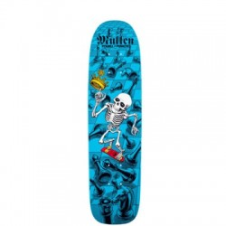 2019 POWELL PERALTA LIMITED EDITION BONES BRIGADE RODNEY MULLEN LTD BLUE SKATES OLD SCHOOL