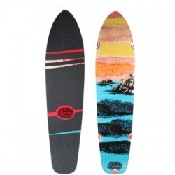 2019 RIVIERA SKATEBOARDS DAWN PATROL LONGBOARD DECK