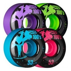 2019 BONES 53mm 100'S ASSORTED COLOURS RUOTE SKATE