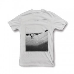 2019 CARVER THE DITCH WHITE T-SHIRT