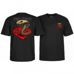 2019 POWELL PERALTA COBRA BLACK T-SHIRT